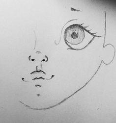 Para hoje temos esses lindos rostinhos pintados para inspiração.