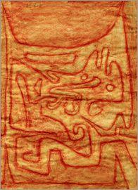 Paul Klee - Daemonie der Glut