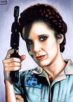 Star Wars - Princess Leia by Trev Murphy