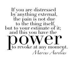 """Inspirational Quote of the Day:  """"If you are distressed ..."""""""