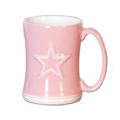 Dallas Cowboys Pink Coffee Mug | Glassware | Home & Office | Accessories | Cowboys Catalog | ShopCowboys
