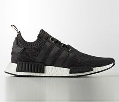 adidas NMD Wool - Black / White