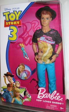 Toy Story 3 Ken Loves Barbie