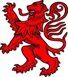 "Heritage Of Scotland ""In the days when flags and banners were important to identify opposing elements in battle, King William I ""the Lion"" who lived from 1143 to 1214, adopted a heraldic device showing a rampant lion, the king of beasts, rearing up with three paws stretched out. This became the royal coat of arms in Scotland."