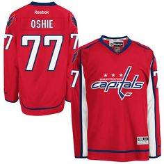 TJ Oshie Washington Capitals Reebok Premier Jersey - Red 7631341b7