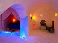 Igloo hotel, Alta -Norway-