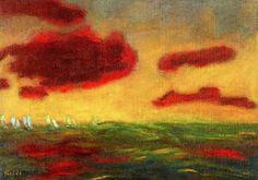 On the High Sea Emil Nolde - 1949