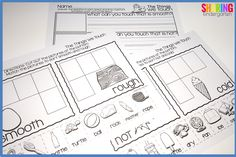 sense of touch printables you will LOVE