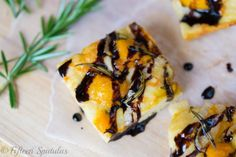 Butternut Squash and Caramelized Onion Focaccia
