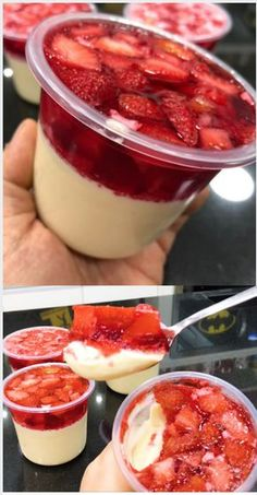Receitas de Bolo no pote. clique na imagem. Aprenda a Fazer e vender bolo no pote. Descubra agora como ganha até por mês fazendo bolo no pote. Sweet Recipes, Cake Recipes, Dessert Recipes, Dessert Boxes, Good Food, Yummy Food, Dessert Simple, Easy Desserts, Breakfast Recipes