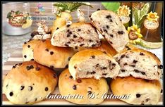 Best Italian Recipes, Tasty, Yummy Food, Recipe Boards, Bagel, Keep It Cleaner, Food And Drink, Bread, Chocolate