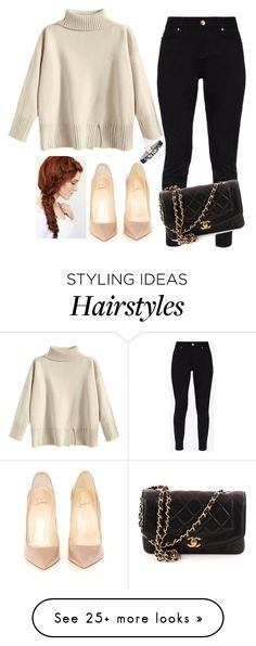 """Shopping Spree!"" by tysonishere on Polyvore featuring Ted Baker, Christian Louboutin, Chanel and River Island"
