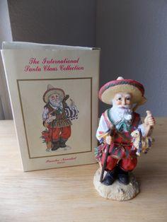 "1993 International Santa Claus Collection ""Pancho Navidad Mexico"" Figurine - Santa"