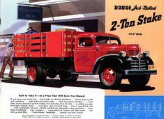 1941 Dodge 2 ton flat bed.