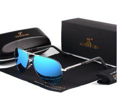 e410d8bf8a8 Aluminum Magnesium Men s Sunglasses Polarized Men Coating Mirror Glasses