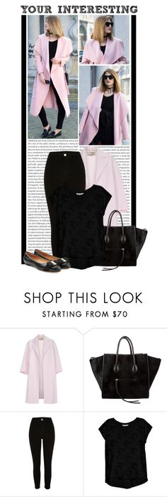 """""""#1313 (Street Style)"""" by lauren1993 ❤ liked on Polyvore featuring Oris, Paul Smith, CÉLINE, River Island, Bobeau and Salvatore Ferragamo"""
