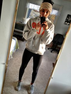 cute outside running outfit