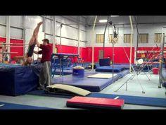 Skill Progressions #10: Front Handspring Vault - YouTube