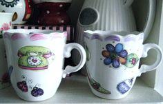 Tacitas con toda la onda! #cups#ceramics#juanita#arthomedesigns