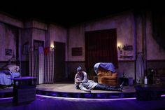 Topdog/Underdog-South Coast Repertory. Set design by Shaun Motley. Lighting by Jaymi Lee Smith.