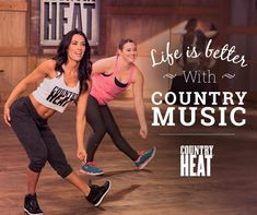 Life is better with country music workouts!