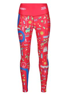 These bright Red Run London 2020 Leggings will put a spring in your step. Features the River Thames with icons scattered across the legs of all the landmarks that you find running London including the Running London, Runner Problems, London Marathon, Running Costumes, Running Humor, Half Marathon Training, Run Disney, River Thames, Famous Last Words