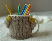 Cozy Mug Sweater Choose your color by mugsweater on Etsy