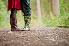 Forest wellies