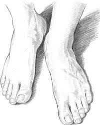 how to draw baby feet - babies-kids feet-foot step by step ...