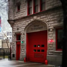 Old fire house in chicago. Took this pic last feb