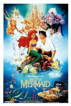 "My Little Mermaid- although I LOVE every Disney movie, this one stands out for my in my childhood since it was one of the few that after seeing in theaters had to have everything Little Mermaid...you could say for a period of time, I was ""in to"" The Little Mermaid"