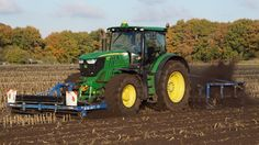Part 2 High speed Farming John Deere 6190R en Hektor Gigant Trekkerweb
