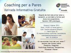 Xerrada gratuita: Tallers de Coaching per a Pares (¡noves dates!) a Lenoarmi