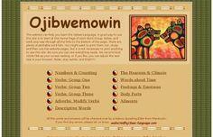 learn Ojibwe language website