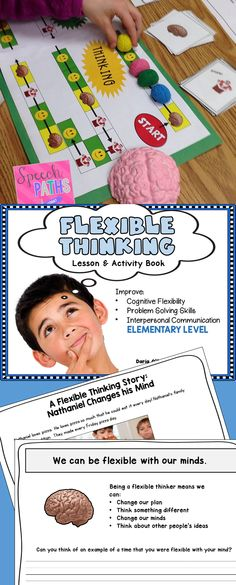 Activities to help students improve cognitive flexibility.  #SpeechPaths