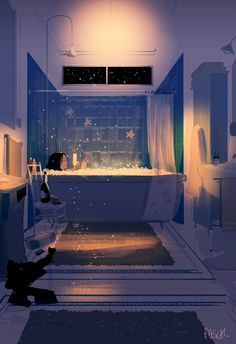 Pascal Campion「Champagne! After a long ( and good ) day's work!」