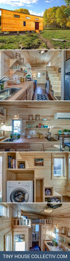 A Tumbleweed tiny home available for sale in Nevada