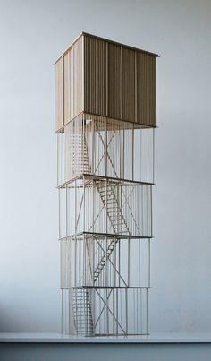 Tipperne Bird Sanctuary,Model. Image Courtesy of Johansen Skovsted Arkitekter