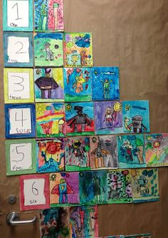 Meaningful number charts based on student interests