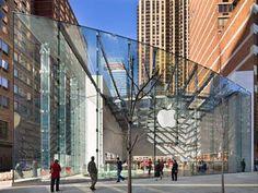 Apple Store, Upper West Side New York, // Architect - Bohlin Cywinski Jackson -