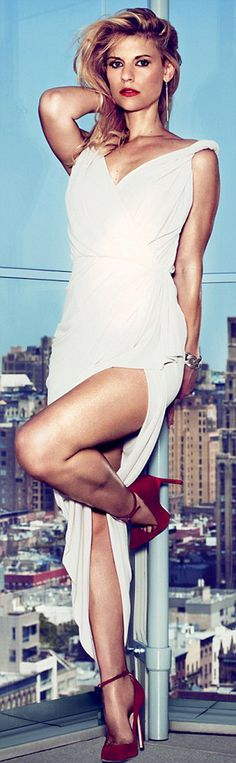 Claire Danes. British GQ. September 2012.  Claire Danes, people!!!