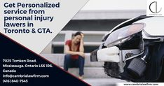 Looking for an immigration, employment or personal injury lawyer in Toronto and the GTA? Cambria Law, one of the top law firms in Toronto and the GTA, is here for you. Car Accident Lawyer, Personal Injury Lawyer, What Is Need, Brain Injury, Above And Beyond, Do Everything, Terms Of Service, Gta, Ontario