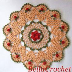 BellaCrochet: Mavanee's Roses: A Free Crochet Pattern For You