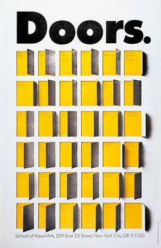 Doors (1967) / by Milton Glaser