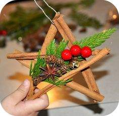Holiday Star Ornaments - NorthWoods Style