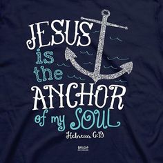 """HOPE verse 4. """"We have this hope as an anchor for the soul, firm and secure. It enters the inner sanctuary behind the curtain,"""" Hebrews 6:19 NIV #dbvabcs Photo: Mardel"""