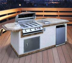 What is Prefabricated Outdoor Kitchen Kits ?: durable-prefab-outdoor-kitchen-kit-amazing-prefab-outdoor-kitchen-kit-with-stucco-materials – xtrainradio Prefab Outdoor Kitchen, Outdoor Kitchen Kits, Modular Outdoor Kitchens, Kitchen Modular, Outdoor Kitchen Countertops, Basic Kitchen, Outdoor Kitchen Design, Outdoor Dining, Kitchen Island