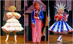 Baby June and her Newboys (w/ Baby Louise, going into Patriotic finale)    Music Theatre Wichita