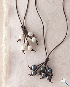 Looks simple enough!!!  And pretty.  Necklace......or bracelet!