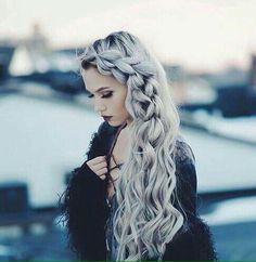 hair/ cabelos/ tranças/ penteados/ platinado